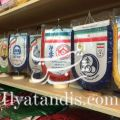 چاپ پرچم رومیزی چاپ هدایای تبلیغاتی