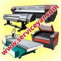خدمات نصب و سرویس دستگاههای چاپ ، لیزر ، سی ان سی